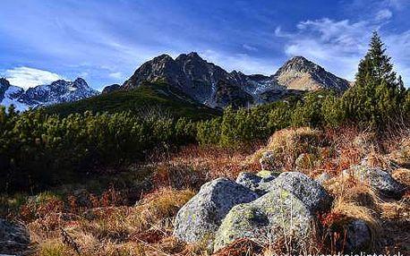 Pestrý podzim v Tatrách - 3, 4, 6 dní s polopenzí za super cenu