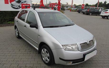 Škoda Fabia 1.9 SDi, klimatizace