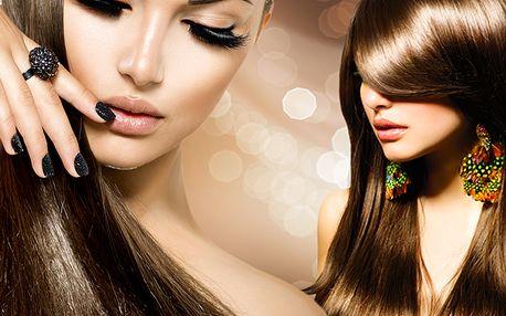 Hloubková regenerace vlasů brazilským keratinem