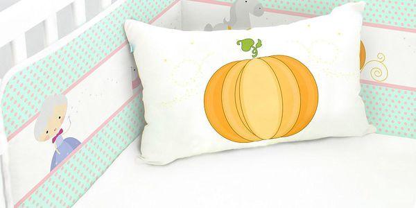 Praktický mantinel do dětské postýlky Pumpkin