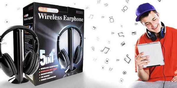 Užijte si bezdrátovou svobodu! S těmito sluchátky MH2001 5v1 se stanete opravdu nezávislými. Pryč s trápením otlaky uší! Sluchátka mají velmi měkké a příjemné polstrování, takže je můžete mít na uších klidně celé hodiny.