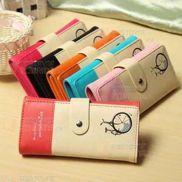 Dlouhá dámská peněženka - 6 barev a poštovné ZDARMA! - 29614123