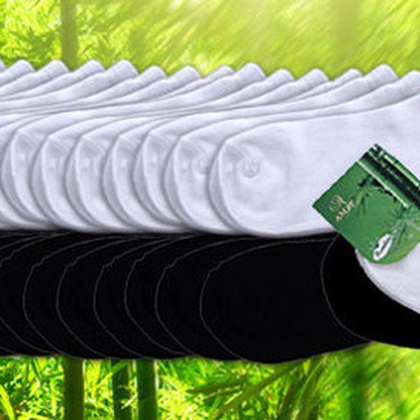 16 párů ponožek s bambusovým vláknem