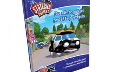 Praštěný Štěpán přijíždí do města - kniha Statečná autíčka