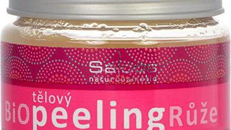 Salus Tělový Bio Peeling Růže 140ml Tělový peeling W Hydratuje a zvláčňuje
