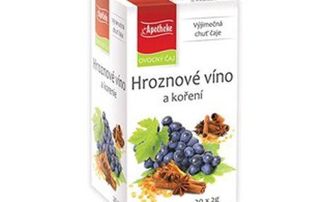 Ovocný čaj Apotheke hroznové víno a koření