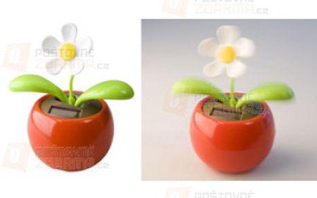 Tančící květina na solární energii a poštovné ZDARMA s dodáním do 3 dnů! - 30514055