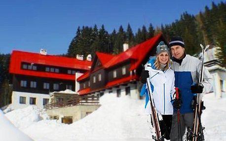 Pec pod Sněžkou: Lyžařský pobyt v penzionu pro 2 s polopenzí