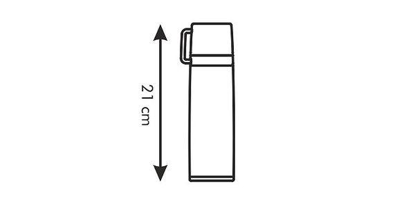Tescoma termoska s hrníčkem CONSTANT 0.3 l, nerez