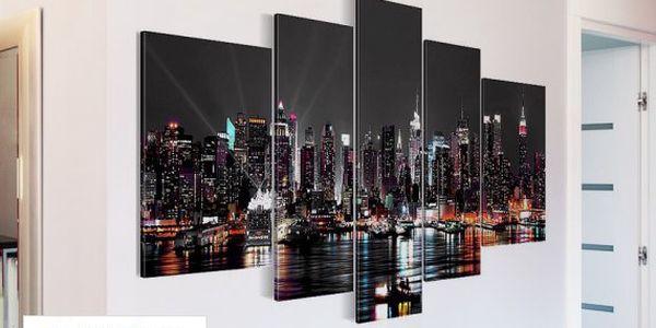 Designové 3D obrazy s motivem New Yorku