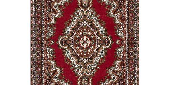 Tak trochu perský koberec Era Red, 70x140 cm
