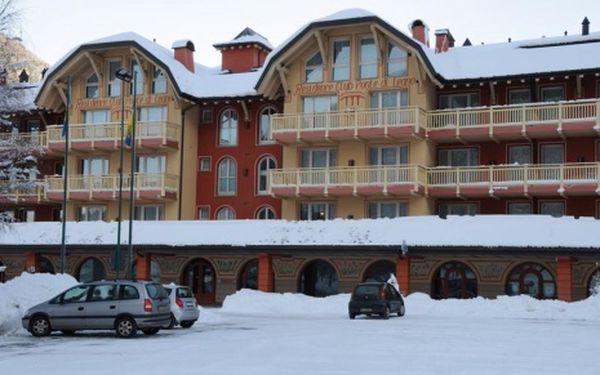 Itálie, oblast Tonale/Ponte di Legno, bez stravy, ubytování v 4* hotelu na 8 dní