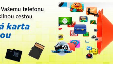 Paměťová karta micro SD 64 GB + adaptér