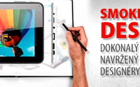 Tablet SMOKETECH DESIGN 7""