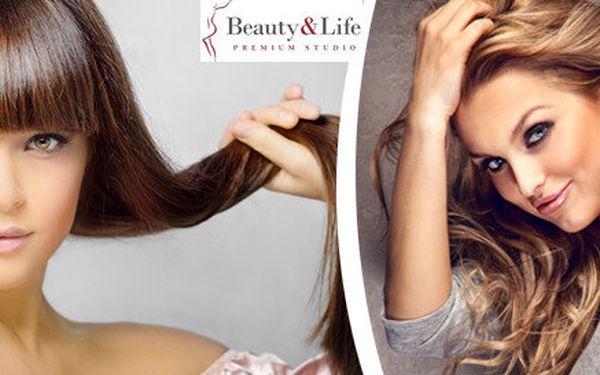 Botox pro krásné a zdravé vlasy, včetně střihu a závěrečného stylingu