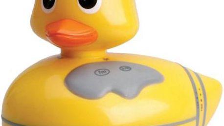 Rádio plovoucí kachnička - Žlutá