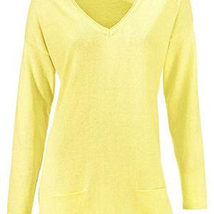 Pulovr, žlutá