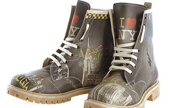 Dámské šněrovací boty s New Yorkem Elite Goby