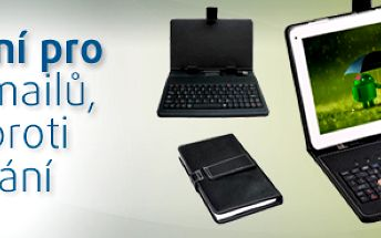 """Obal na tablet 7"""" pouzdro s klávesnicí; klávesnice"""