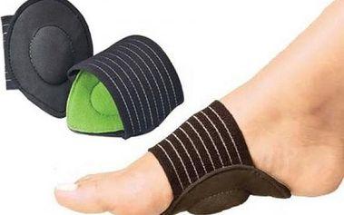 Úleva pro nohy - speciální pásky s polštářky!