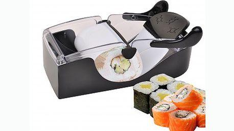 Připravte si sushi v pohodlí domova. Perfektní praktický pomocník Perfect roll do Vaší kuchyně,skvělý na přípravu sushi, masových, zeleninových nebo ovocných rolek.