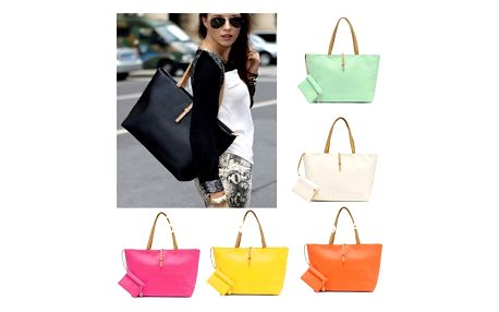 Dámská kabelka v módních barvách - VÝPRODEJ