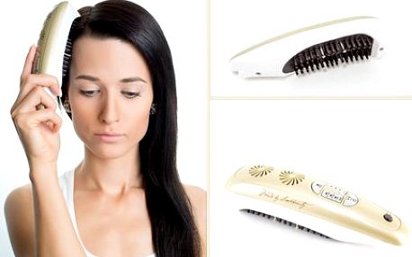 STOP vypadávání vlasů: laserový hřeben LC200