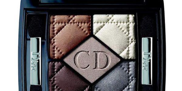 Christian Dior 5 Couleurs 6g Oční stíny W - Odstín 034 Gris Gris