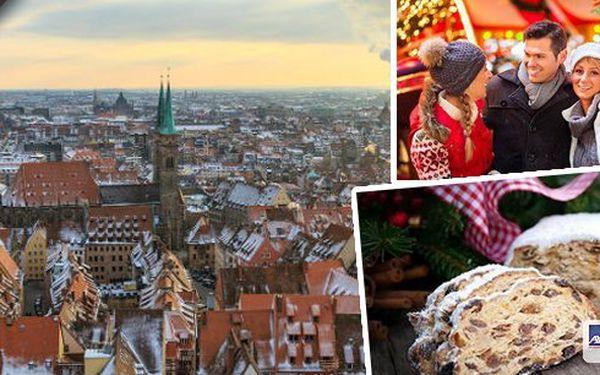 Adventní autobusový zájezd do rozzářeného Norimberka na největší vánoční trhy ve střední Evropě! Nalaďte se na předvánoční atmosféru a vyrazte si užít pravou sváteční náladu! Na výběr ze tří termínů.