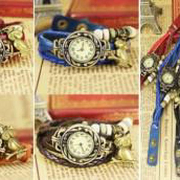 Vintage hodinky s přívěskem