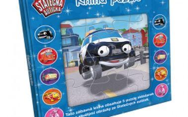 Puzzle kniha Statečná autíčka