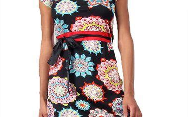 Dámské šaty s kaleidoskopovým potiskem Aller Simplement