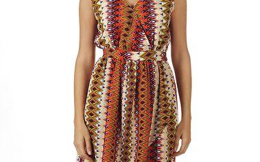 Dámské šaty s aztéckým vzorem Ada Gatti