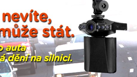 Přenosná HD DVR minikamera SMOKETECH do auta