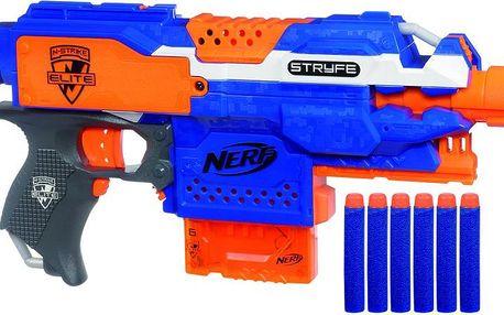 Nerf ELITE automatická pistole s clipovým zásobníkem Stryfe