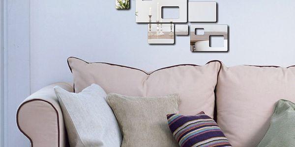 Dekorativní zrcadlo Minimalistic, jednotlivé díly lze sestavit podle libosti