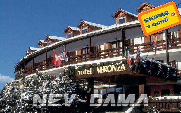 Hotel Resort Veronza, Val di Fiemme / Obereggen, Itálie, vlastní doprava, polopenze