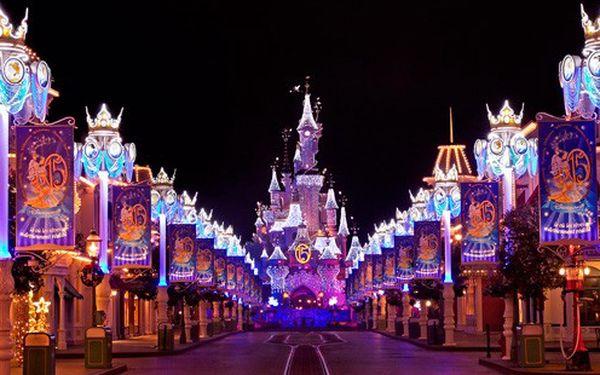 Adventní sobota v Disneylandu