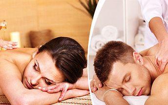 90 minut regenerace a relaxu - celotělová masáž