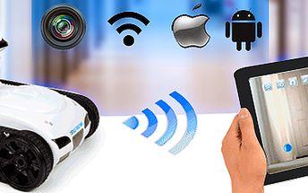 Špionážní auto s kamerou na ovládání iPhonem nebo iPadem! Vč. poštovného.