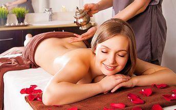 75minutová aromaterapeutická masáž v centru Harmonie v Mnichově Hradišti
