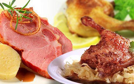 Selský talíř plný výborného masa pro dva