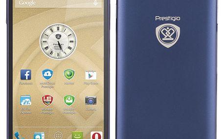 Mobilní telefon Prestigio MultiPhone PSP5505 DUO modrý