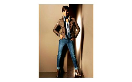 Dámské džíny, modrá