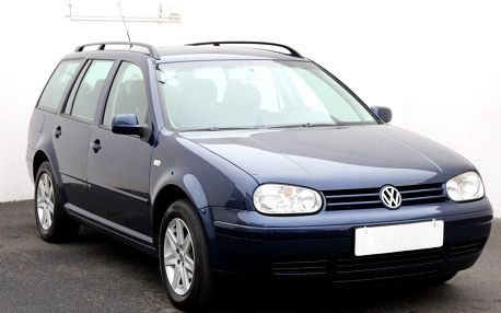 Volkswagen Golf 1.9 TDi, Serv.kniha, klima