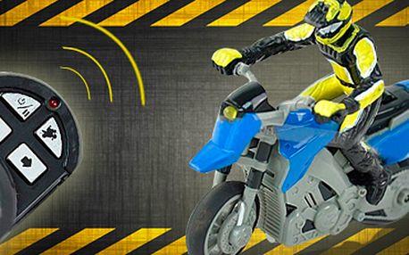 RC motorka 1:43 Mini Infrared: cena včetně poštovného!