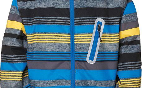 Boys authentic stance jacket, modrá, M