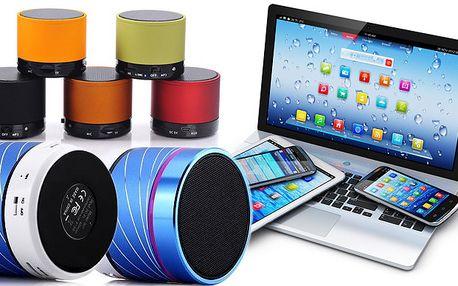 Bluetooth reproduktor s MP3 přehrávačem, rádiem a AUX vstupem pro připojení