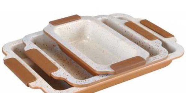 Kvalitní 2 nebo 3 - dílná sada pekáčů s BIO keramickým povrchem od renomovaného výrobce