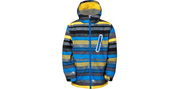 Boys authentic stance jacket, modrá, M